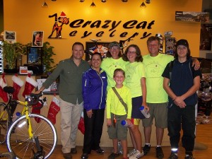Mundo and the gang from Crazy Cat Cyclery in El Paso, TX. Thank you, thank you again!