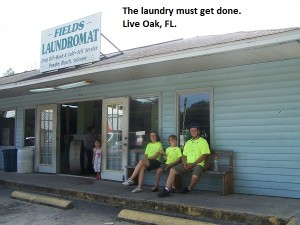 Imagine one load of laundry for all of us! There is something to less is better!