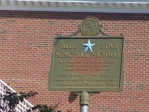 Blue Star Memorial Highway in Madison, FL