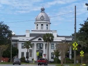 Monticello, Florida's town square