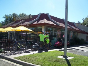 McDonald's in Blountstown, FL. A true example of friendly service.