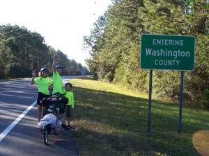 Entering Washington County on US-20