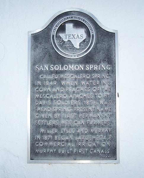 San Solomon Spring