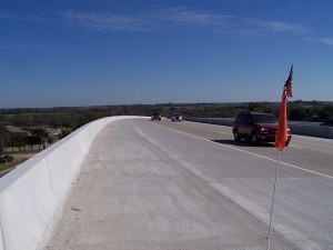 This was a tough uphill to get to Brenham!