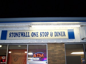 Stonewall does have a few more businesses, but not many!