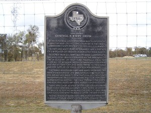 Historical Marker - General E. Kirby Smith between Stonewall and Fredericksburg, TX