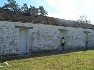 The only original building left at Ft. Martin Scott
