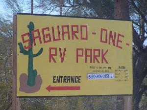 Saguaro - One RV Park in Stanfield, Arizona