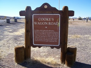 Cookes Wagon Road - Lt. Col. Cooke blazed a wagon trail from New Mexico to the West Coast in 1846