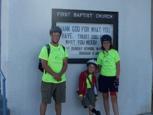 First Baptist Church in Lordsburg, NM - our lodgings for the night!