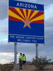 Rob, Dakota and Luke, glad to be in Arizona!