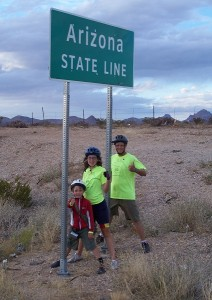 Standing in two states at the same time!