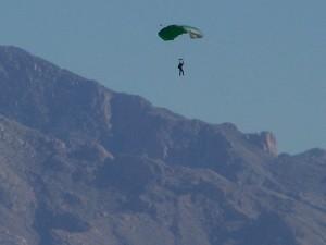Another parachutist!