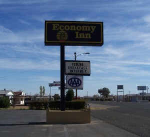 Economy Inn in Van Horn, Texas