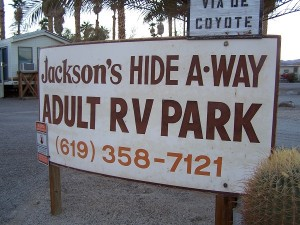 Jackson's Hide A-Way