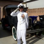 Virgil Woods in his Dress Whites - a living 'National Treasure'