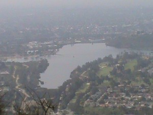 Lake Murray from Cowles Mountain