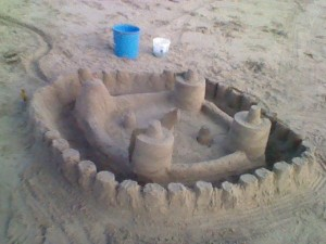 One Epic Sand Castle