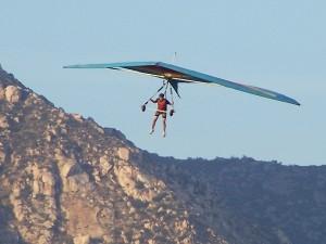 Rob Hang Gliding at Blossom