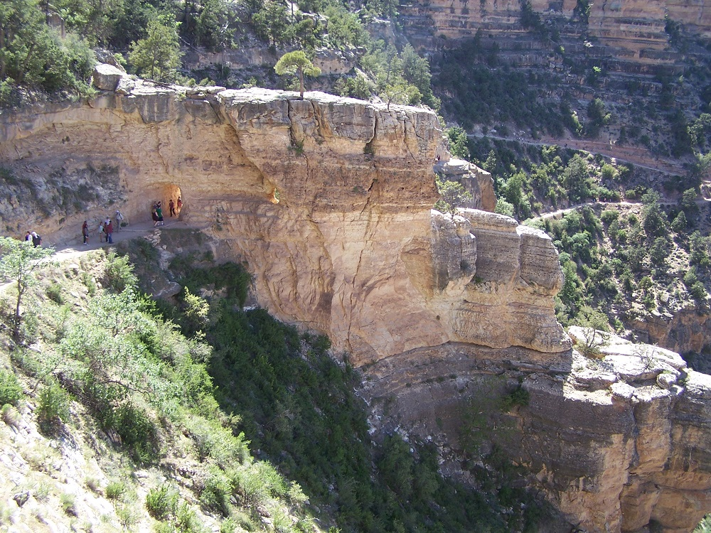 Beginning of Bright Angel Trail